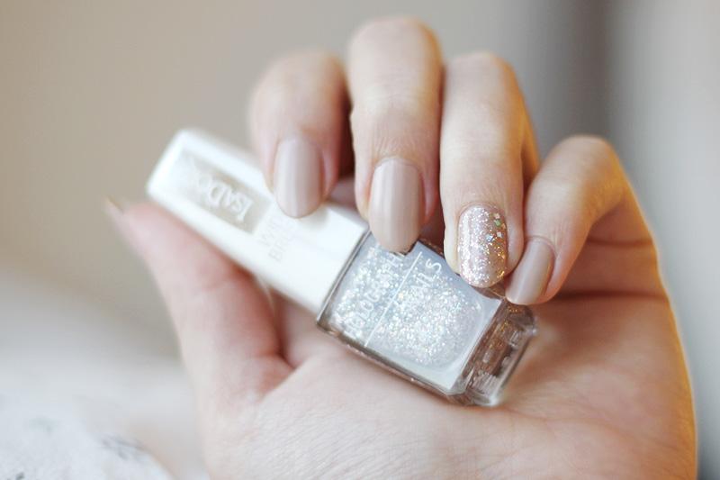 Nailpolish matte glitter
