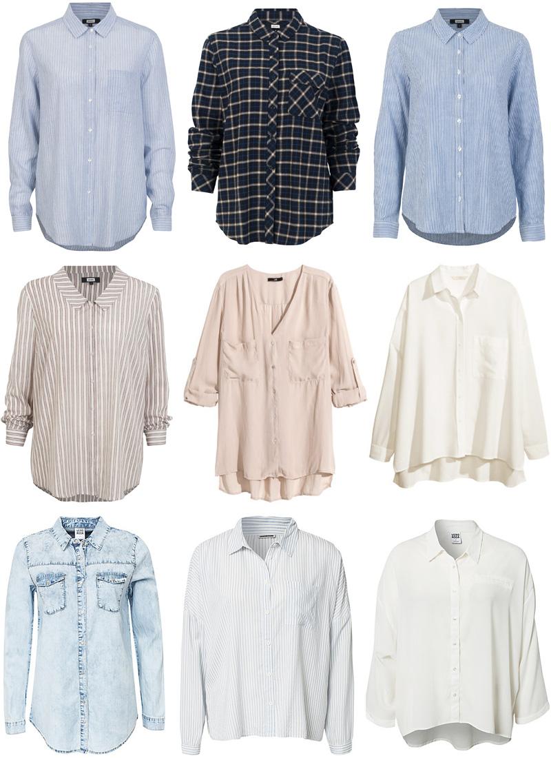Skjorter + bluser