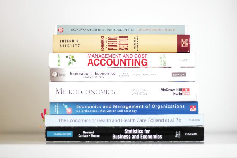 Økonomi bøker