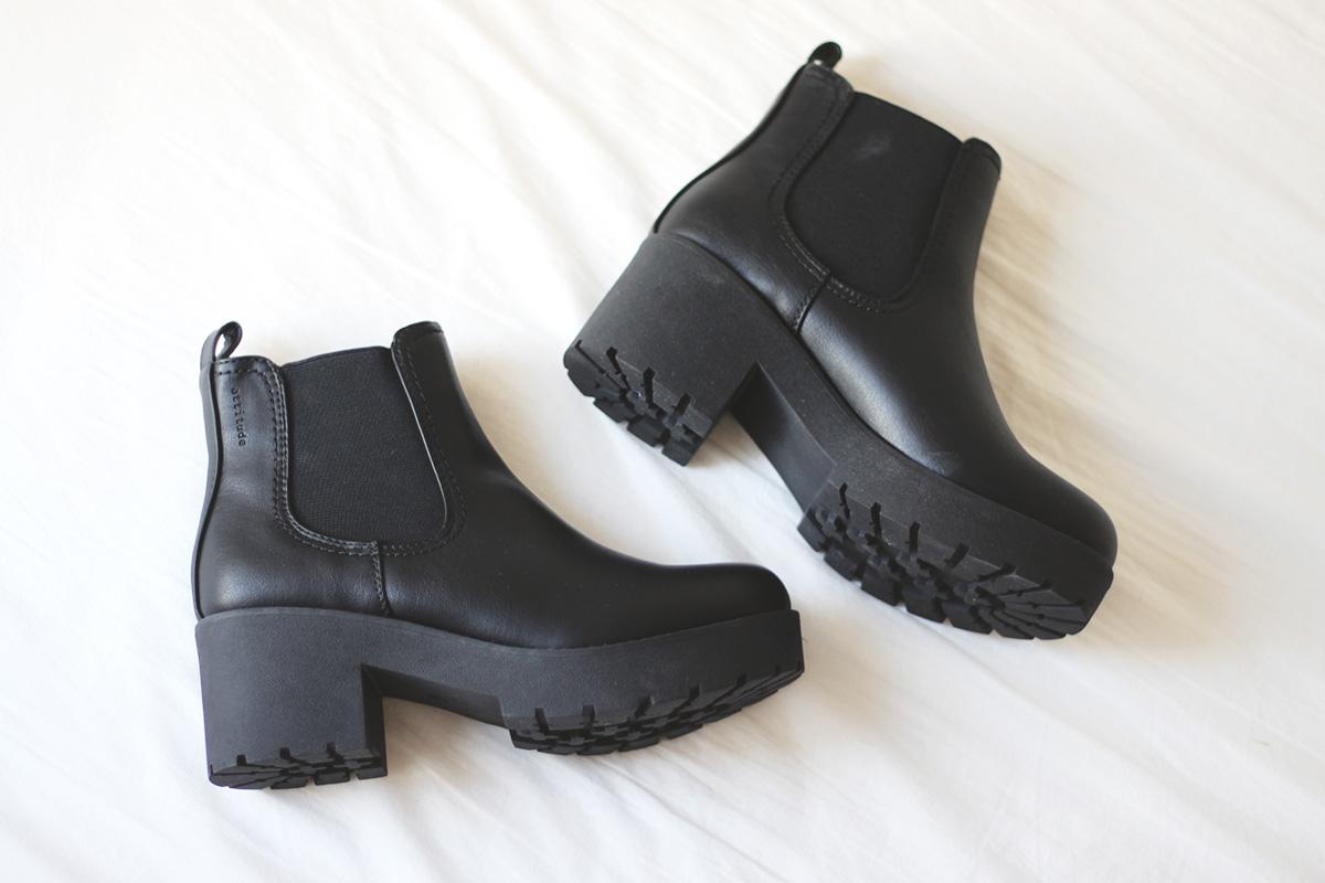Chunky heels fra Din Sko