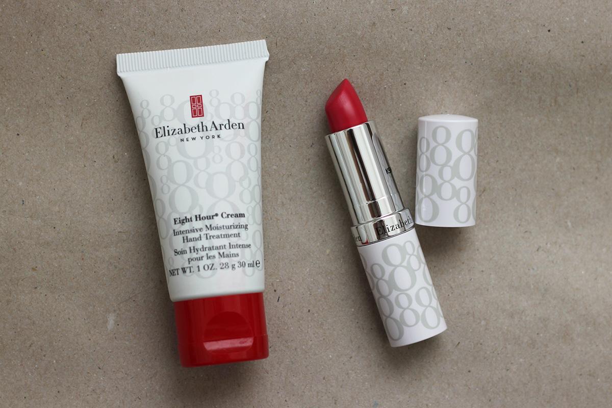 Elizabeth Arden hand treatment & lip protector